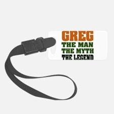 Greg The Legend Luggage Tag