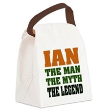 Ian The Legend Canvas Lunch Bag