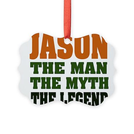Jason The Legend Picture Ornament
