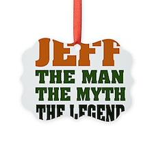 Jeff The Legend Ornament