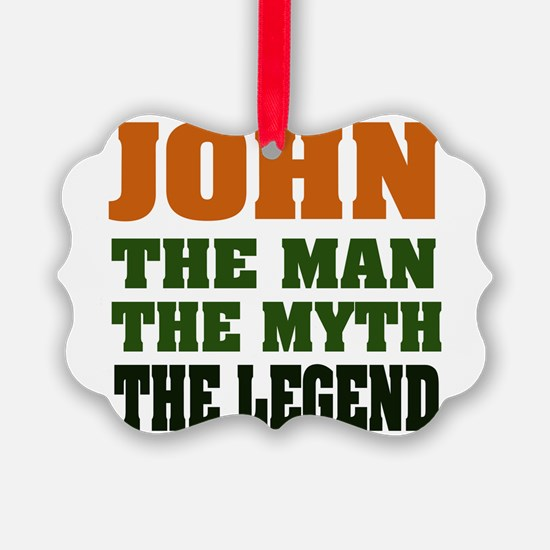 John The Legend Ornament