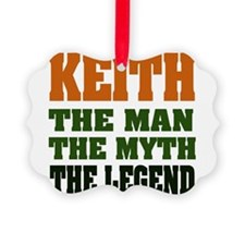 Keith The Legend Ornament
