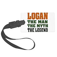 Logan The Legend Luggage Tag