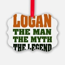 Logan The Legend Ornament