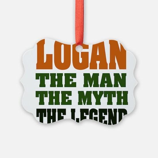 Logan The Legend Ornament