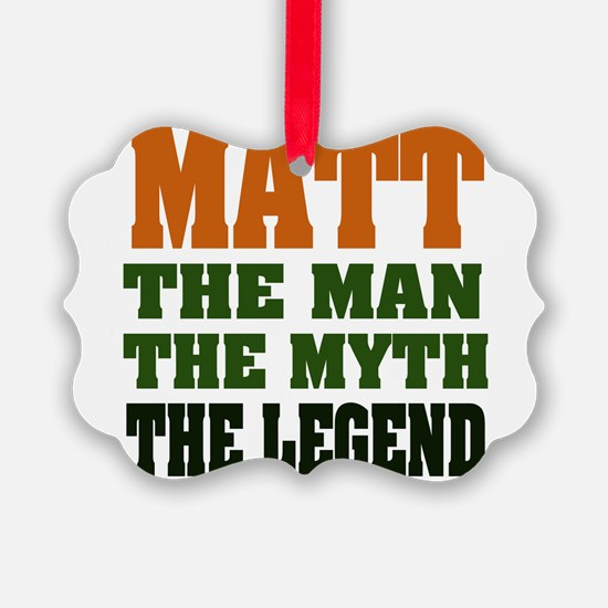 Paul The Legend Ornament