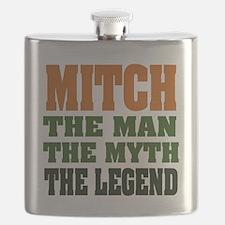 Mitch The Legend Flask