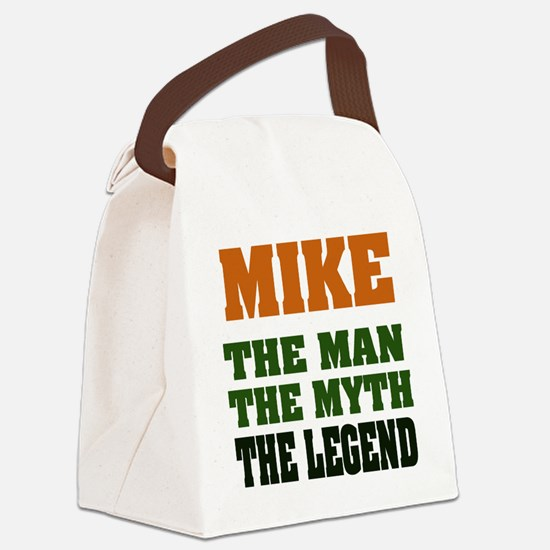 Mike The Legend Canvas Lunch Bag