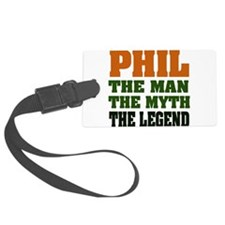 Phil The Legend Luggage Tag