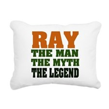 Ray The Legend Rectangular Canvas Pillow