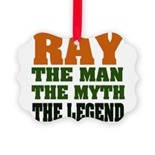 Ray The Legend Ornament