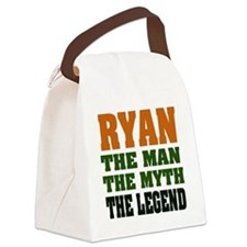 Ryan The Legend Canvas Lunch Bag