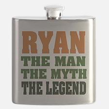 Ryan The Legend Flask