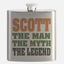 Scott The Legend Flask