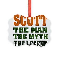 Scott The Legend Ornament
