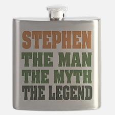 Stephen The Legend Flask