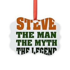 Steve The Legend Ornament