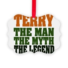 TERRY DARK.png Ornament