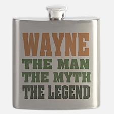 Wayne The Legend Flask