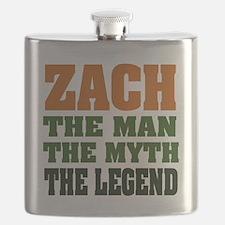 Zach The Legend Flask