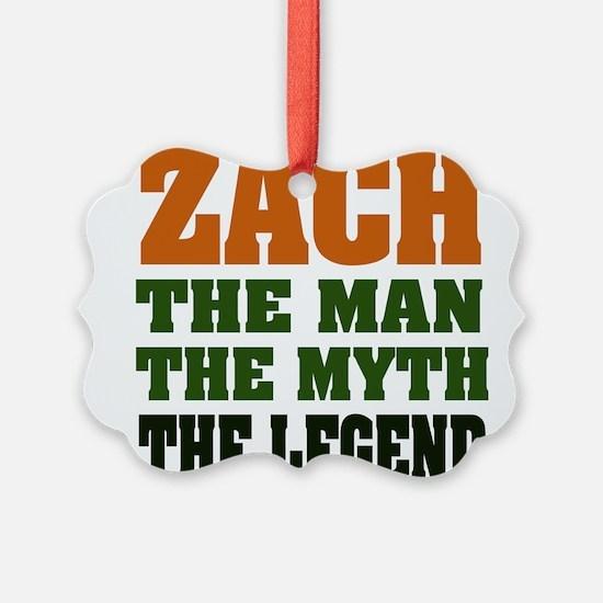 Zach The Legend Ornament
