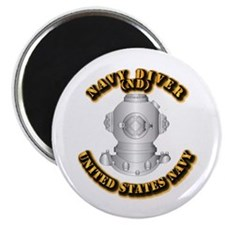 """Navy - Rate - ND 2.25"""" Magnet (10 pack)"""