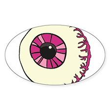 Halloween Eyeball Decal