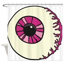 Halloween Eyeball Shower Curtain