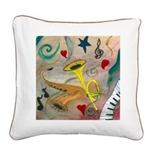 JAZZ Square Canvas Pillow