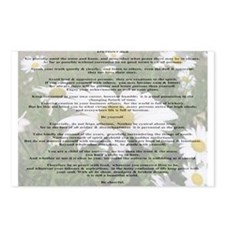 Desiderata Amongst The  Daisy Postcards (Package o