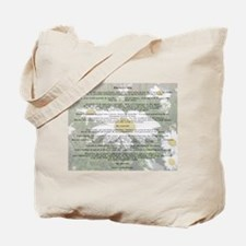 Desiderata Amongst The  Daisy Tote Bag