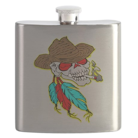 wht_Cowboy_Skull_Feathers.png Flask