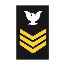 Petty Officer First Class<BR> Sticker 3