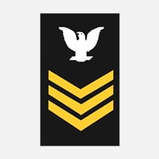 Petty Officer First Class<BR> Sticker 3