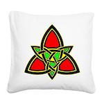 wht_celtic_knot_0311.png Square Canvas Pillow