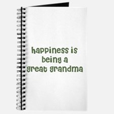 Happiness is being a Great Gr Journal