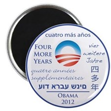 Four More Years of President Obama Magnet