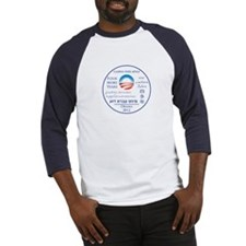 Four More Years of President Obama Baseball Jersey