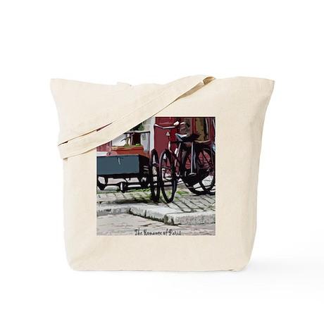 The Romance of Paris Tote Bag
