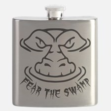 Fear the Swamp Gator Flask