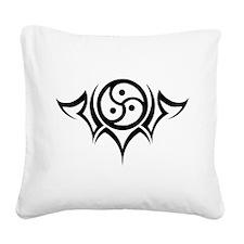 wht_Tribal_BDSM.png Square Canvas Pillow
