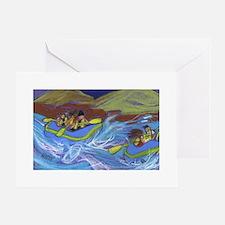 Raftin Greeting Cards