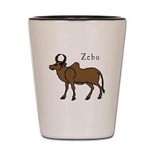 Zebu Shot Glass