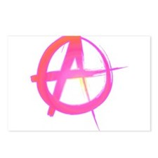Colorful Anarchy Postcards (Package of 8)