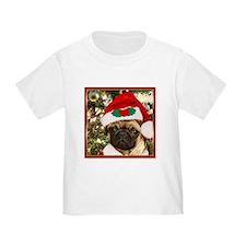 Christmas Pug Dog T