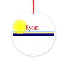 Ryann Ornament (Round)