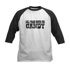Trade Sister for Candy Kids Shirt Raglan Sleeves