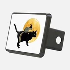 Witch Squirrel Cat Hitch Cover