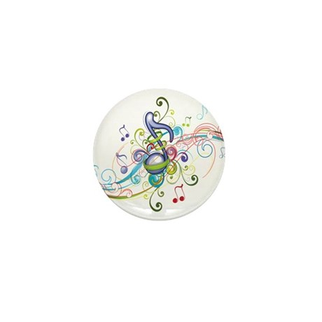 Music in the air Mini Button (10 pack)