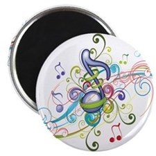 Music in the air Magnet